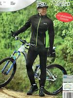 Herren Fahrradhose / Fahrradjacke mit reflektierenden Elementen Coolmax Radhose