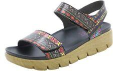 Alegria Playa Women's Pow Pow Leather with Rubber Sole Platform Sandals US 12 M