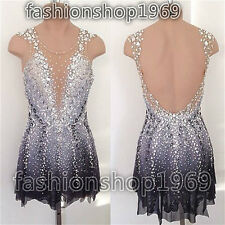 2017 New Ice Figure Skating Dress  Baton Twirling Dress For Competitio xx287
