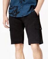 """INC Men's Shook Cargo 11"""" Shorts Color: Deep Black, MSRP: 49.50$"""