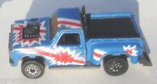 Fast 111's Range Runner Kenner 1980 Blue Truck Nice North Dakota License Toy