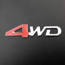 4WD Metal Car Tailgate Rear Trunk Lid Badge Emblem Decal Sticker SUV
