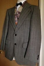 "Mens jacket size 41"" vintage 1970s woollen blazer tailored by Bernhardt - smart"
