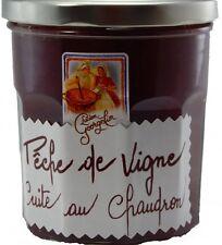 Confiture de France brais de vigne weinberg pêche 320 grammes