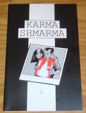 Karma Shmarma #1 FN mark griffin lives with cancer (hodgkin's disease) rare