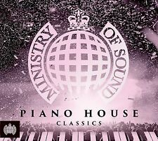 PIANO HOUSE CLASSICS - MINISTRY OF SOUND 3 CD SET - New Release 18th August 2017