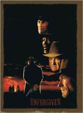 UNFORGIVEN - 1992 original PRESS KIT with 4 Stills - CLINT EASTWOOD, M.FREEMAN