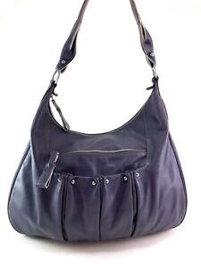 LONGCHAMP Gray Leather Shoulder Bag