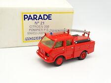 Parade 1/50 - Citroen 350 Double Cabine Maheu Labrosse Pompiers