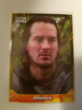 2017 Doctor Who Signature Series Mordred Yellow Parallel #'ed 2/25