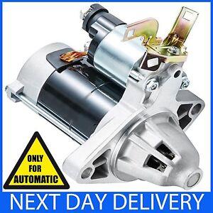FOR HONDA CRV MK1 1995-2002 2.0 PETROL AUTOMATIC NEW STARTER MOTOR CR-V