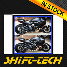 ST857 DUCATI DIAVEL EXHAUST 2 YEAR WARRANTY!! IN STOCK !! WORLDWIDE SHIPPING!!