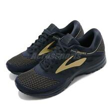 Brooks Revel Navy Gold BioMoGo DNA Mens Running Shoes Run Happy 110260 1D