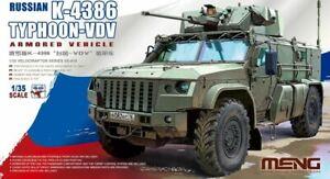 Meng Models 1/35 Russian K-4386 Typhoon-VDV Armored Vehicle # VS-014