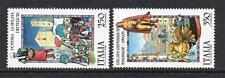 ITALIA Gomma integra, non linguellato 1985 sg1875-1876 FOLK doganale