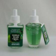 2 New Bath & Body Works Wallflowers Home Fragrance Refill Vanilla Bean Noel