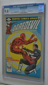 DAREDEVIL # 183 : CGC 9.8 (NEAR MINT/MINT) : JUNE 1982 : MARVEL COMICS.