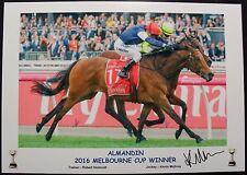 ALMANDIN 2016 MELBOURNE CUP signed Print