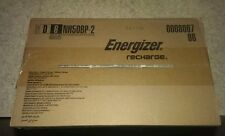 (6) Energizer D Recharge Power 2 Pack 2500 mAh NH50 1.2V NIMH-HR20