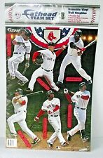 Boston Red Sox Wall Decal Fathead Team Scrapbook Youkilis Crawford Lester Ortiz