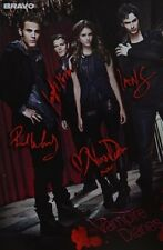 THE VAMPIRE DIARIES - Autogrammkarte - Signed Autograph Autogramm Clippings