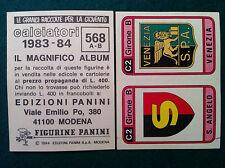 CALCIATORI 1983-84 83-1984 n 568 S. ANGELO VENEZIA - Figurina Panini velina