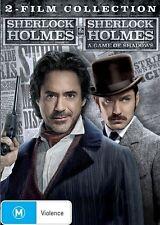 Sherlock Holmes / Sherlock Holmes - A Game Of Shadows (DVD, 2012, 2-Disc Set)