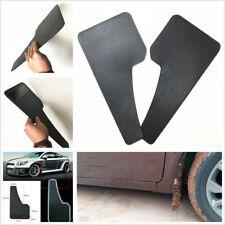 Une paire de bonne qualité Voiture SUV Carbone fliber Look Fender Garde-boue Mud Guard Noir