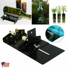 Glass Wine Beer Bottle Cutter Cutting Machine Art Crafts Recycle Diy Tool Kit Us