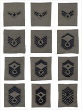 U.S. AIR FORCE ENLISTED ABU GORTEX LOOPS RANK(E2- E9) FOR APECS PARKA JACKET TAB
