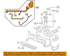 GM OEM Fuel System-Filler Pipe 22951210