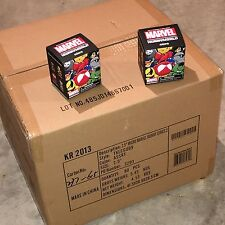 "KIDROBOT Marvel Munny Micro ""Series 2"" FULL CASE ~ 80 SEALED NEW Vinyl BLIND BOX"