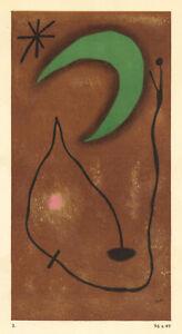 Joan Miro pochoir 7700129