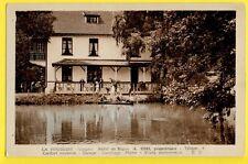 cpa RARE LA HOUSSIÈRE (Vosges) HÔTEL du REPOS A. COSI Propriétaire CANOTAGE