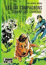 Les Six Compagnons devant les caméras // P-J. BONZON // Bibliothèque Verte