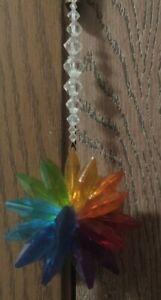 Multicolor Rainbow Handmade Crystal Sun Catcher Decoration (Support ☘️ Charity)