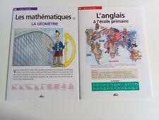 PETIT GUIDE AEDIS EDUCATIF L'ANGLAIS A L'ECOLE PRIMAIRE + LA GEOMETRIE