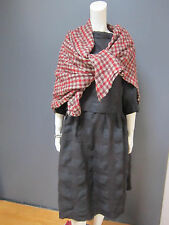 DANIELA GREGIS wool & linen wrap / shawl NEW with TAG 55 inches x 61 inches