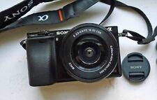 Sony A6000 Camera W/16-55mm OSS Lens - Near Mint Condition - 696 Shutter Clicks