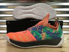 8a513b7c368 Adidas James Harden Vol.2 Basketball Shoes California Dreamin Coral SZ  (AH2219)