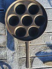 Munker, Munkepanne, Munkejern, Norwegian Cast Iron Munke Iron