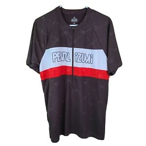 Cycling Jersey Pearl Izumi Mens Large Brown Red 2009 Version Short Sleeve