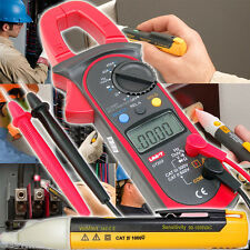 HALL tech DC/AC Non-Contact Auto HVAC Car Clamp Meter+VoltAlert Detector Tester