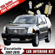 18PCS White LED Dome Map Bulb Interior Package Kit For Cadillac Escalade 2007-15