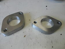 """Weber 34 ICT mounting flanges or spacers - 1"""" thick - pair"""