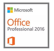 Microsoft Office Professional 2016 DVD Brand New Genuine - 2 PCs Install