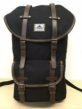 Steve Madden Black Large backpack Faux Leather Straps. - Black
