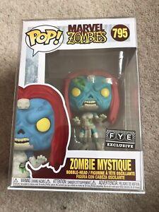 Funko Marvel Zombie X Men Mystique FYE Exclusive Pop Vinyl