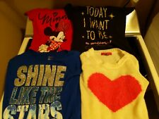 Justice Gap Disney Lot Of Girls Clothes 9 Pieces Size 6-7 Summer Outfits