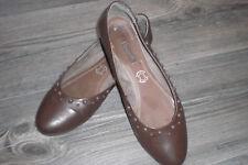 Schicke gepfl Damenschuhe, Ballerinas von Bugatti Gr 40  Leder